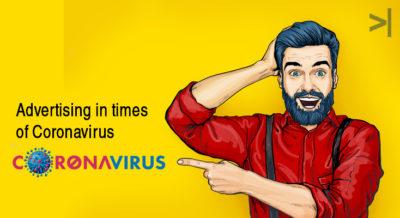 Advertising in times of corona virus